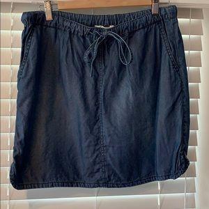 Caslon chambray Blue casual skirt Medium